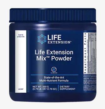 life extension mix powder multivitamin vergleich