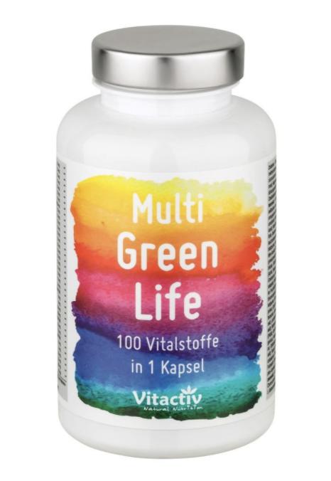 multi green life multivitamin vergleich